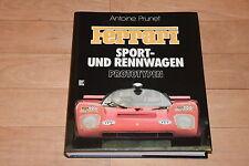 !! Antoine Prunet: FERRARI Sport- und Rennwagen Prototypen, Sehr schön !!