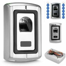 10 Tags Access Control Fingerprint Reader Scanners With Rfid Em Reader 12 Vdc