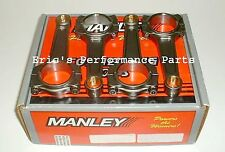 Manley 14417-4 Turbo Tuff I-Beam Connecting Rods for Honda H22 Prelude Accord