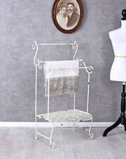 Towel Rail Geschirrtuchständer Shabby Chic Towel Holder Standing Towel Rack