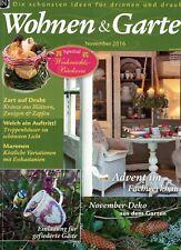 Wohnen & Garten 2016 November,Weihnachtsbäckerei,Maronen,November Deko,Treppenhä