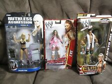 WWE Action Figures Eve, Maryse & Alberto Del Rio (Autographed)