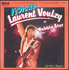 LAURENT VOULZY BUBBLE STAR JAPON JAPAN 45T SP RCA SS 3173 QUASI NEUF / NEAR MINT