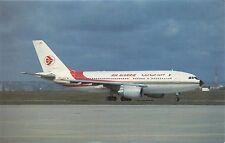 AIR ALGERIE AIRLINES AIRBUS A310-203 7T-VJC POSTCARD