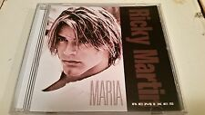 RICKY MARTIN MARIA RARE OOP 6 MIX CD FREE SHIPPING