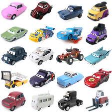Disney Pixar Cars 2 Lightning McQueen King Metal Toy Car Model Diecast Gift