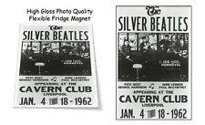 "The Silver Beatles 1962 Cavern Club Liverpool Concert Poster 3""X4"" FRIDGE MAGNET"