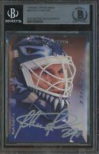 1995-96 Upper Deck #48 Felix Potvin Silver Ink AUTO Maple Leafs BGS BAS