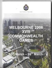 Obsolete Victoria Police Issued Booklet - Commonwealth Games 2006 106 PAGES VGC