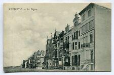CPA - Carte Postale - Belgique - Westende - La Digue (SV6587)