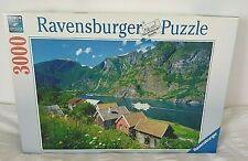2015 Ravensburger 3000pc Jigsaw Puzzle Sognefjord Norway 121cm x 80cm Complete