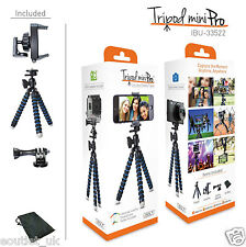 iBOLT Flexible Universal Flexible Tripod MiniPro For GoPro or iPhone SE/6s/7 NEW