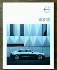 2018 VOLVO S90 Sales Brochure Catalog US 18 T5 T6 T8 Hybrid R-Design Inscription