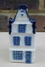 BLUE DELFT KLM Miniature House Decanter Bottle (Empty) 16