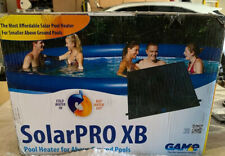 New listing Game Group Solarpro Xb Pool Heater ~ Brand New