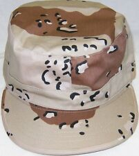 Desert Storm Cap Camo 6 Colors Hat Fitted Back Patrol CAP size XL 7 3/4