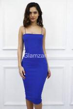 Vestiti da donna blu aderente