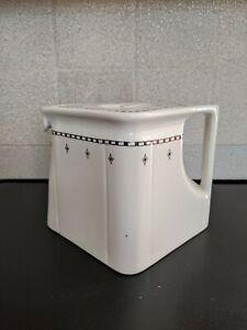 Rare Vintage Art Deco Cube Teapot Diamond Arma HG Stephenson Manchester