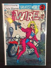 Barb Wire Dark Horse Comics Signed/Autographed By Chris Warner Week 1