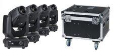 4x Showtec Phantom 65 Spot inkl. DAP-Audio LCA-PHA4 Case