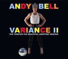 Andy Bell ‎– Variance II (The 'Torsten The Beautiful Libertine' Remixes)  CD NEW