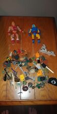 Junk drawer action figure and accessories toy lot mixed