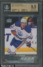 2015-16 Upper Deck Young Guns #201 Connor McDavid RC Rookie BGS 9.5 w/ 10