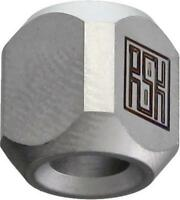 New Real Steel Titanium Pyramid Lanyard Bead L1211