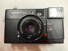 Konica C 35 EF P  Compact Camera With Hexanon 35mm F4 design