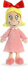 "Dr.Seuss Cindy Lou Who 12"" Plush Doll  Aurora World New (15906)"