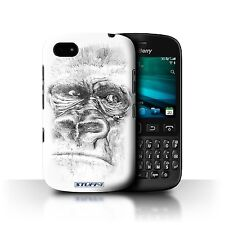 STUFF4 Phone Case for Blackberry Smartphone/Sketch Drawing/Protective Cover