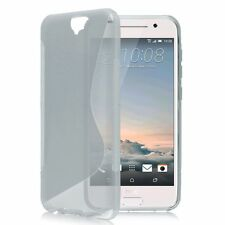 HOUSSE ETUI COQUE SILICONE GEL GRIS HTC ONE A9