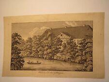 Rasemühle bei Göttingen - 1842 Mariette Lemi ? / Stammbuchblatt