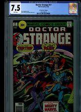 Dr Doctor Strange #17 CGC 7.5 (1976) 30 Cent Price Variant White Pages Rare HTF