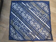 Harley-Davidson Bandana Halstuch Kopftuch blau silber NEU!  aus 2014