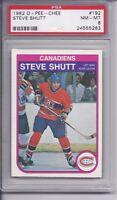 1982-83 O-Pee-chee Steve Shutt #192 PSA 8 NM-MT
