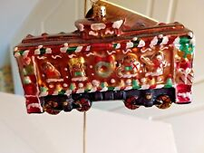 "Christopher Radko ""Box Car Sweets"" Ornament B&O Railroad Train Retired #1014647"