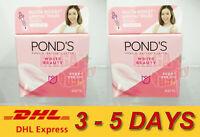 2x Pond s White Beauty Spot Less Rosy White Plus Serum Day Cream Normal Skin 50g