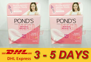 2x Pond s White Beauty Spot Less Rosy White Plus Serum Day Cream Normal Skin 50g