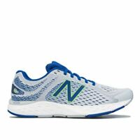 Men's New Balance 680 Lace up Mesh Upper Running Trainers in Grey