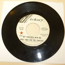 GARAGE  BAND 45 RPM RECORD - NEAL FORD AND THE FANATICS - HICKORY 1468 - PROMO