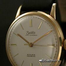 ZENTRA UNIMA - Herrengolduhr Kaliber 120 Chronometer 14 Karat Gold ca. 1960
