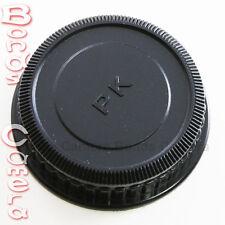 Plastic Rear Lens Cap for Pentax K mount PK Auto Focus AF DA Lens K20D K-r black