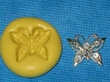 Butterfly Push Mold Food Safe Gum Paste Silicone #880 Cake Chocolate Resin Clay