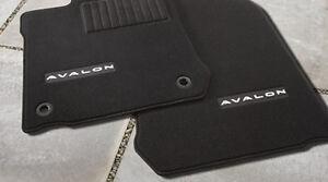 Toyota Avalon 2013 - 2015 Black Carpet Floor Mats Set - OEM NEW!