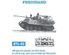 1/35 ATL62 FreeShip FRIULMODEL TRACKS for GERMAN FERDINAND for DRAGON Kits