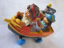 Dora & Deigo in a Diecast Metal Boat.