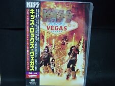 KISS Rocks Vegas JAPAN DVD + 2CD Wicked Lester Badlands Black 'N' Blue ESP