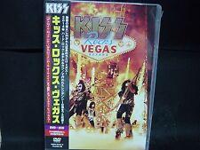 KISS Rocks Vegas JAPAN DVD + 2CD Wicked Lester Badlands Black 'N' Blue ESP