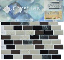 6 Pack Peel And Stick DIY Backsplash Tile On Kitchen Vinyl Wall 10 X 10 Sheets